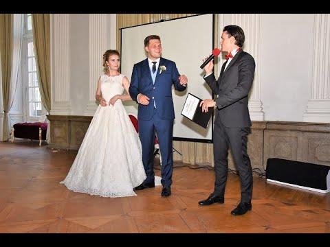Hochzeitsmoderator aus Neuenburg am Rhein 😍 für Ihre deutsch-russische Hochzeit 🔥