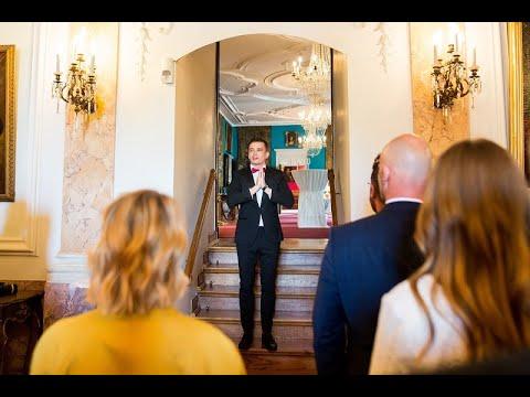 Hochzeitsmoderator aus Augsburg 😍 für Ihre deutsch-russische Hochzeit 🔥