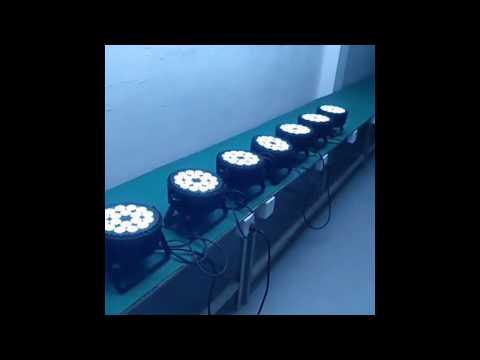 Starke LED Scheinwerfer für russische Hochzeit