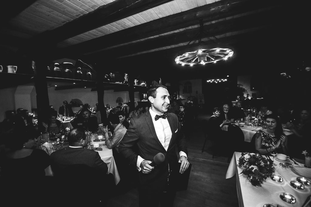 Tamada Leo aus Hamburg für Ihre großartige russische Hochzeit