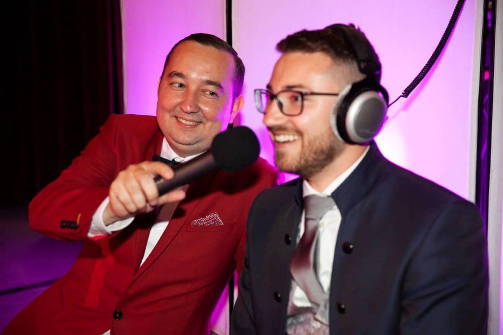 Deutsch-russische Hochzeitsmoderation in Nürnberg mit Moderator Andrej Singer