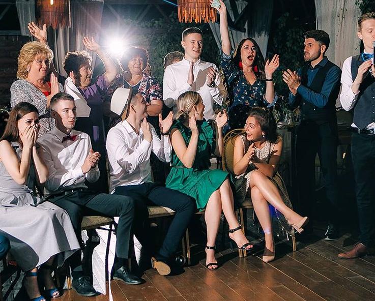 Treuzege Brautjungfern russische Hochzeit