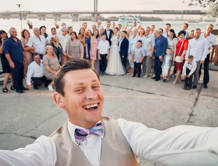 Tamada, Moderator aus Fürth für ihre deutsch-russische Hochzeit