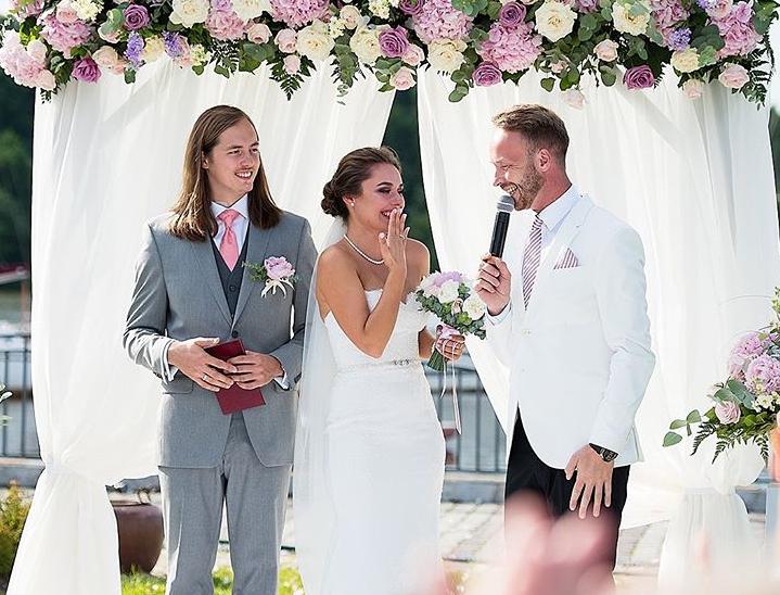 Tamada, Moderator aus Regensburg für ihre deutsch-russische Hochzeit