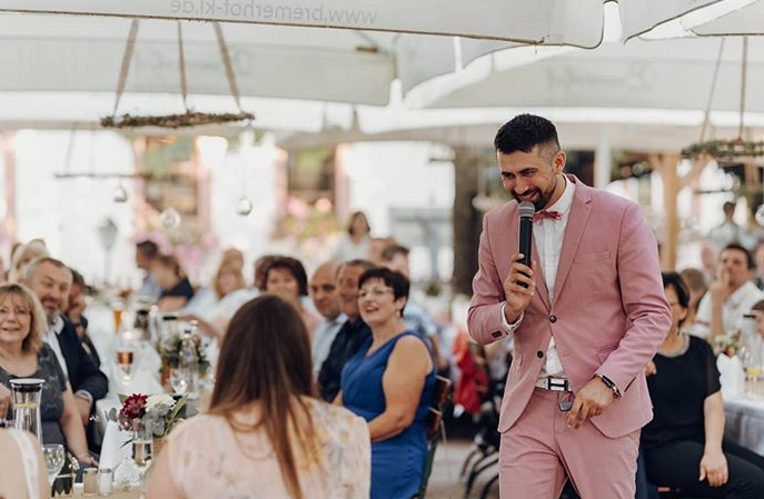 Tamada, Moderator aus Nordhorn für deutsch-russische Hochzeit