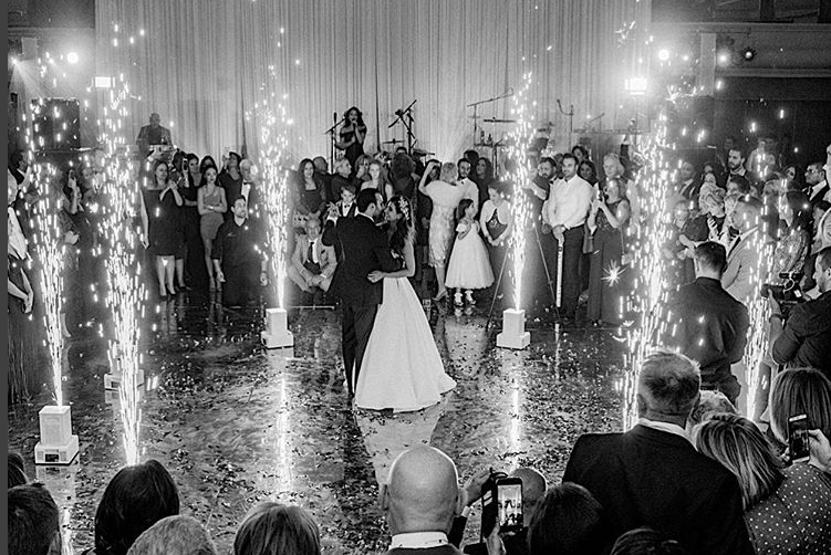 Unglaublicher Eröffnungstanz bei den russischen Hochzeit