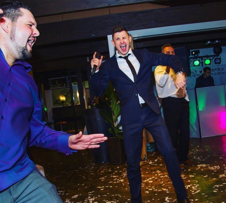 Tamada, Moderator aus Elmshorn für deutsch-russische Hochzeit
