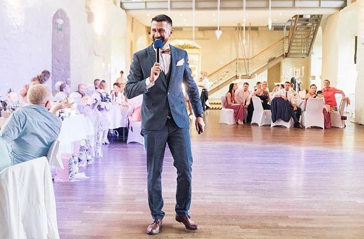 Tamada, Moderator aus Bad Marienbergfür deutsch-russische Hochzeit