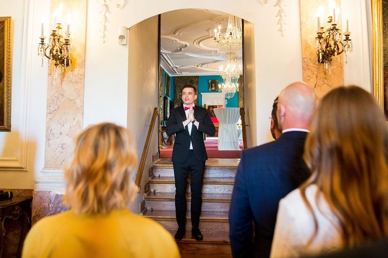 Tamada, Moderator aus für deutsch-russische Hochzeit