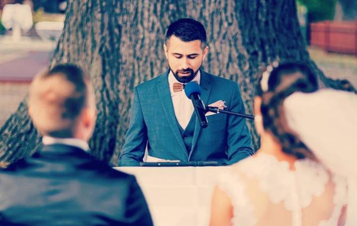 Tamada, Moderator aus Albstadt für deutsch-russische Hochzeit