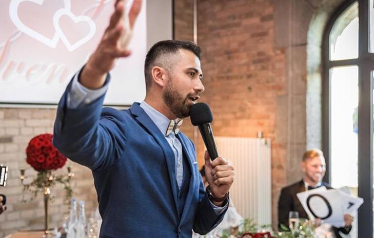 Tamada, Moderator aus Gelnhausen für deutsch-russische Hochzeit