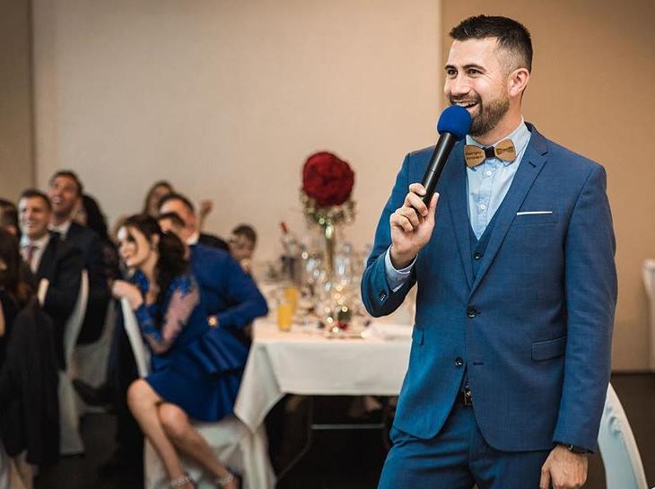 Tamada, Moderator aus Fürth Pocking für deutsch-russische Hochzeit