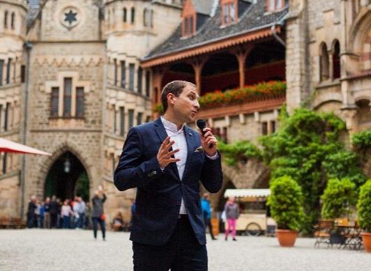 Tamada, Moderator aus Nürtingen für deutsch-russische Hochzeit