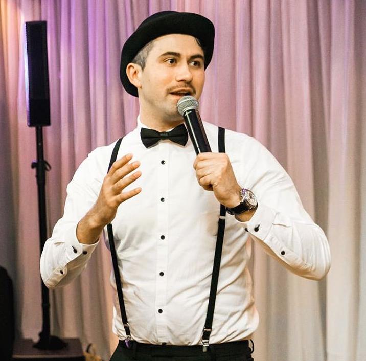 Tamada, Moderator aus Stade für deutsch-russische Hochzeit