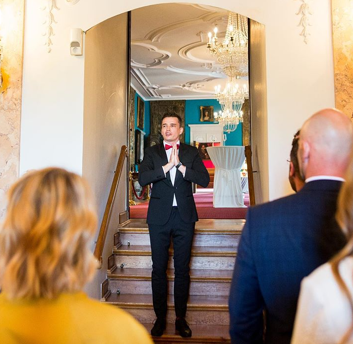 Tamada, Moderator aus Blomberg für deutsch-russische Hochzeit