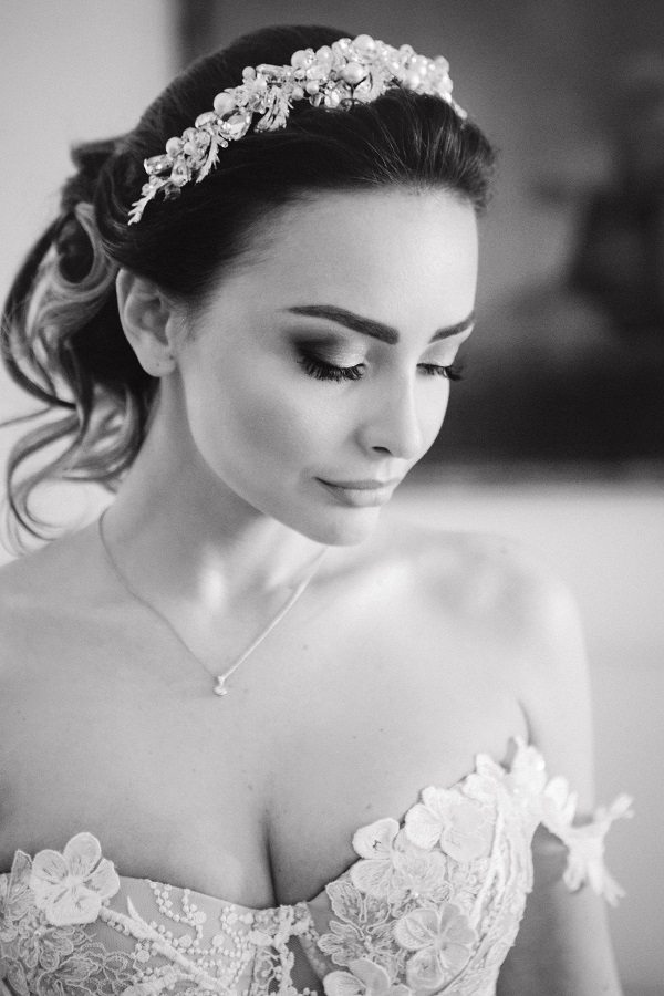 Hochzeitsfoto für russische Hochzeit mit einem Tamada