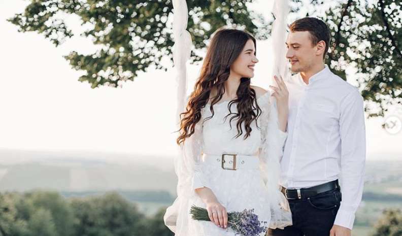 Love Story für eine russische Hochzeit mit dem Hochzeitsmoderator