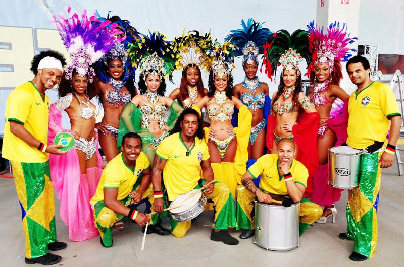 Brasil show Hochzeit