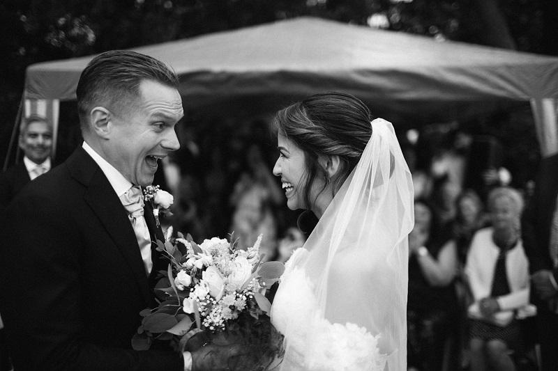 Hochzeitsfotograf für eine russische Hochzeit mit einem Tamada