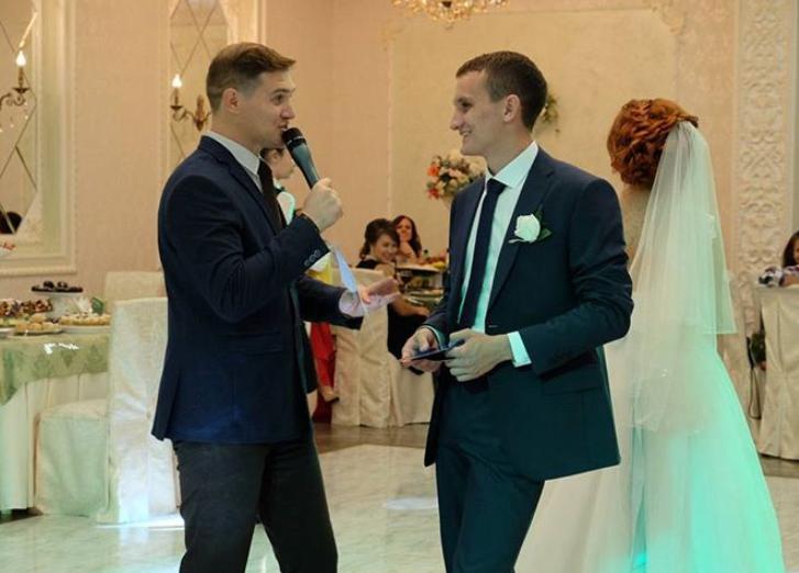 Tamada, Moderator aus Mülheim an der Ruhr für deutsch-russische Hochzeit