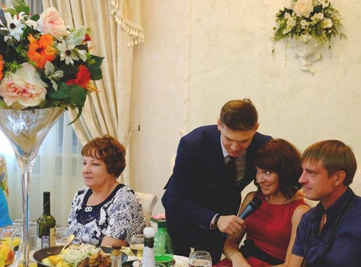 Tamada, Moderator aus Wetzlar für deutsch-russische Hochzeit