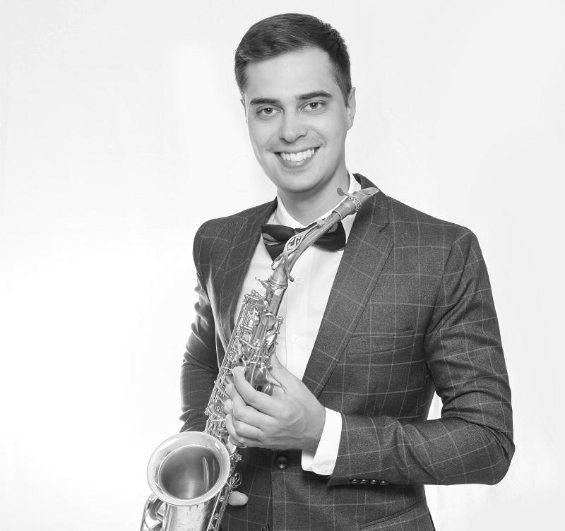 Saxophonist Dimitri für Ihre deutsch-russische Hochzeit