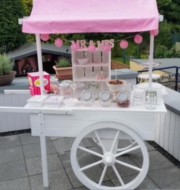 Hochzeitsdekoration - CandyBar