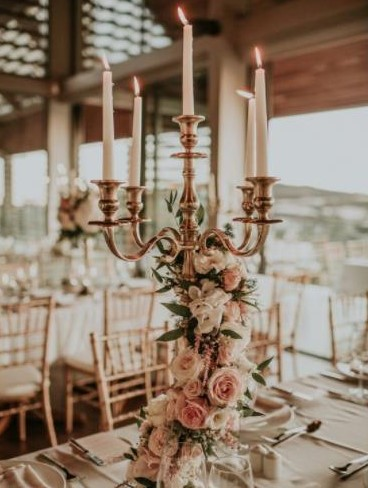 Hochzeitsdekoration - Kerzen