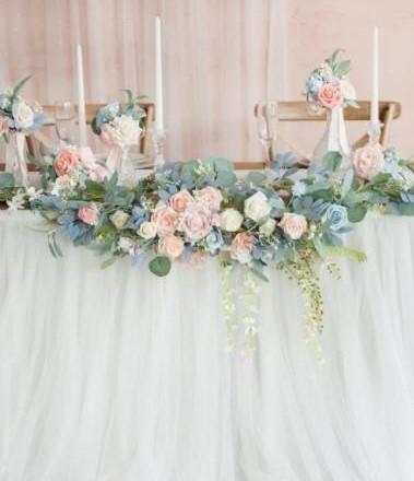 Präsidium - Hochzeitsdekoration