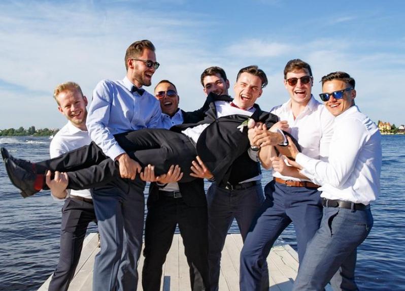 Russische Hochzeit wie eine echte Hochzeitsparty