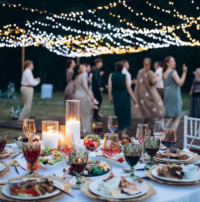 Partyservice für eine deutsch-russische Hochzeit