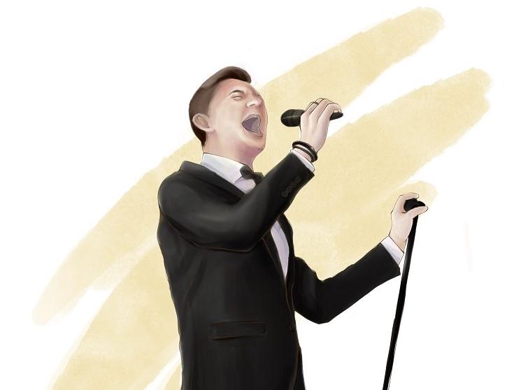 Sänger für deutsch-russische Hochzeit
