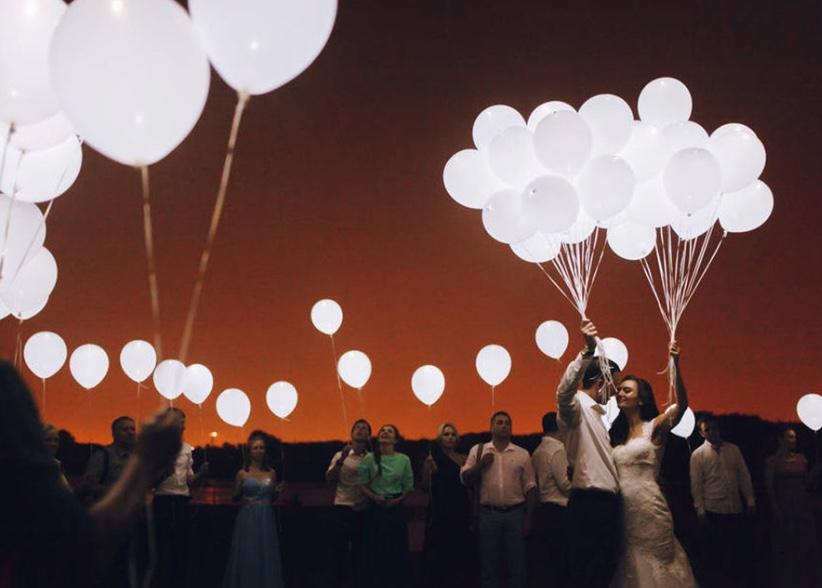 Luftballons für eine wunderschöne Hochzeit - Empfehlungen