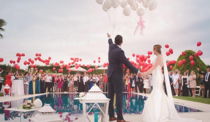 Hellium Luftballons - Tipps für eine Hochzeit