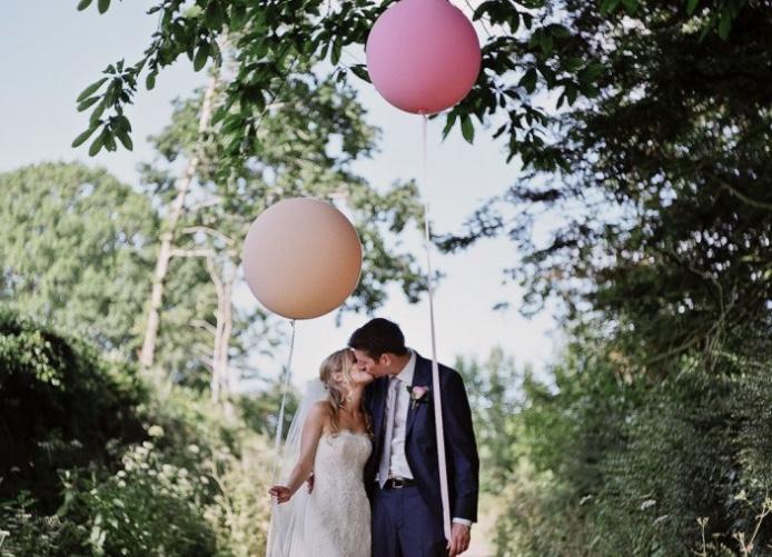 So verwenden Sie am besten die Luftballons bei Ihrer Hochzeit
